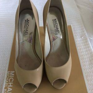 Michael Kors platform heels.